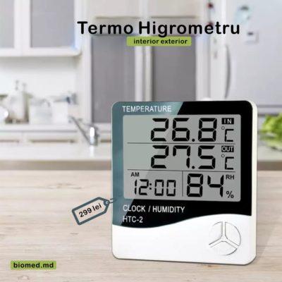 termo higrometru biomed.md