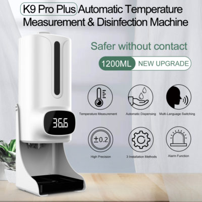 K9-Thermometer-Automatic-1200ml-Hand-Sanitizer-Dispenser-K9-PRO-Plus-Infrared-Thermometer-Dispenser